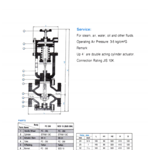 YONE Cylinder Type Ball Valve 116